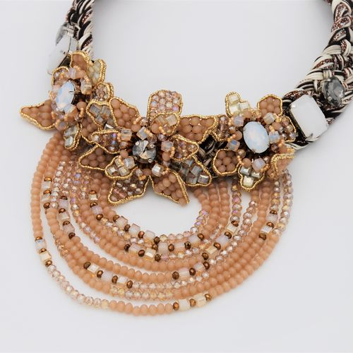 NECKLACE 2453 CHAMPAGNE