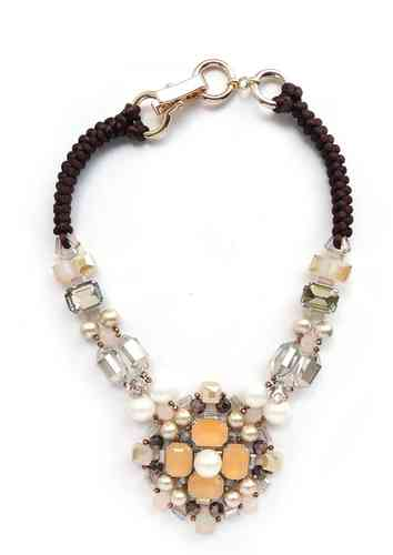NECKLACE 2625 CHAMPAGNE
