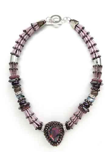NECKLACE 2508 VIOLET