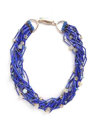 NECKLACE 2033 BLUE