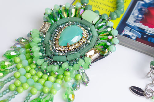 NECKLACE 2487 GREEN