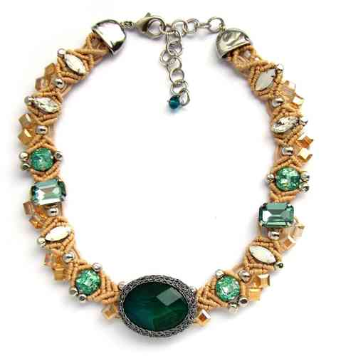 NECKLACE 2059 GREEN