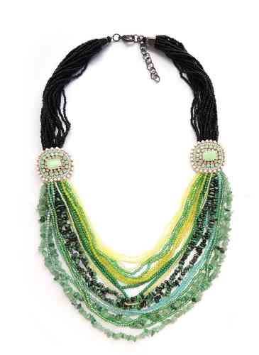 NECKLACE 2118 GREEN