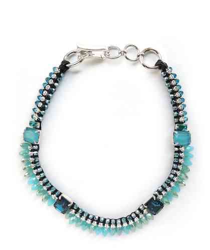 NECKLACE 1720 LIGHT BLUE