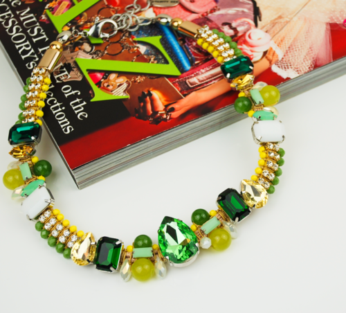 NECKLACE 2632 GREEN
