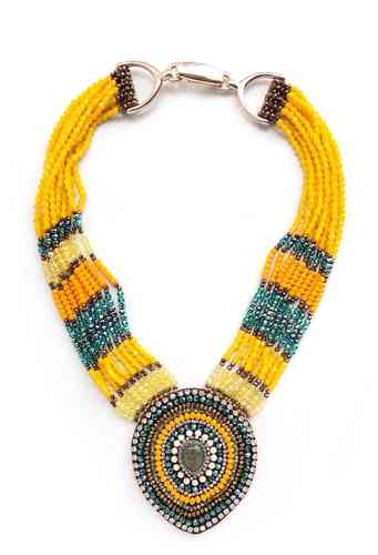 NECKLACE 2158 YELLOW