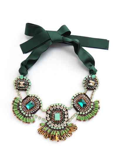 NECKLACE 2606 GREEN