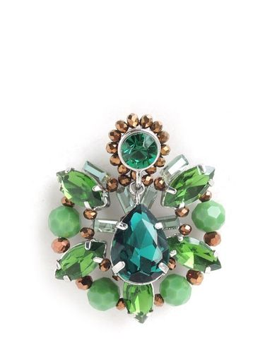 EARRING 1691 GREEN