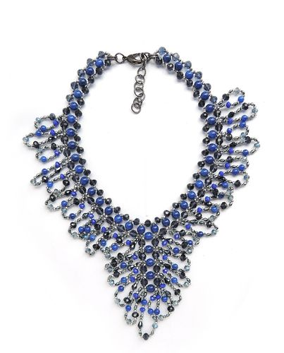 NECKLACE 2288 BLUE