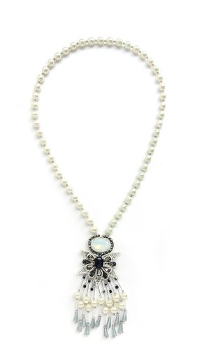 NECKLACE 2592 PEARL