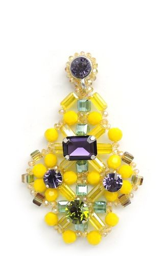EARRING 1689 YELLOW