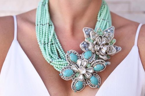 NECKLACE 2558 TURQUOISE