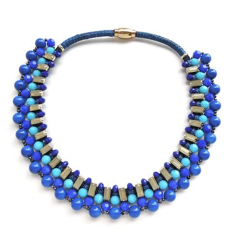 NECKLACE 3325 BLUE