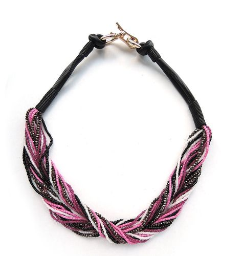 NECKLACE 3384 FUXIA