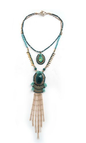 NECKLACE 3002 GREEN
