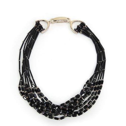 NECKLACE 165 BLACK