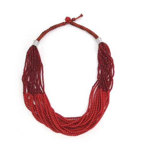 NECKLACE 114 RED
