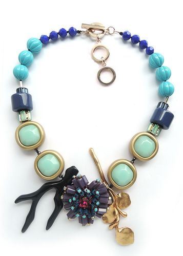 NECKLACE 3225 BLUE