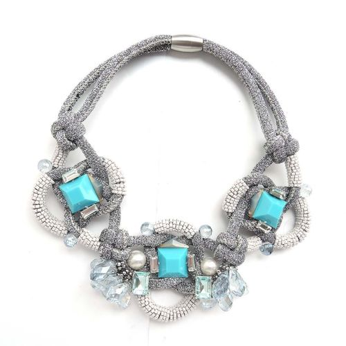 NECKLACE 3128 BLUE