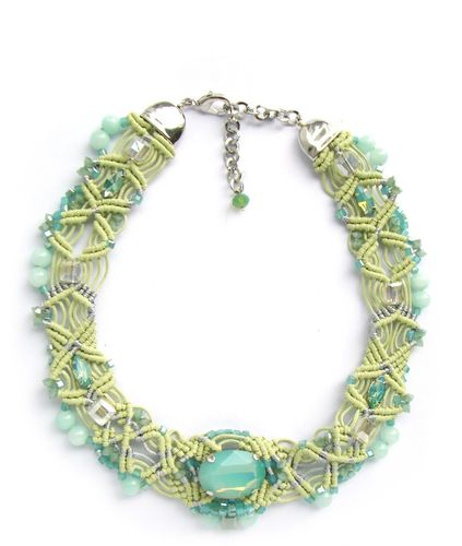 NECKLACE 2074 GREEN