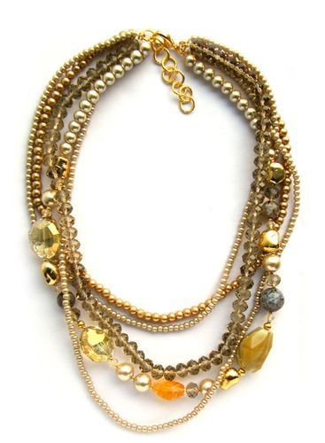 NECKLACE 1575 CHAMPAGNE