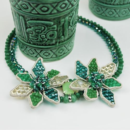 NECKLACE 1594 GREEN
