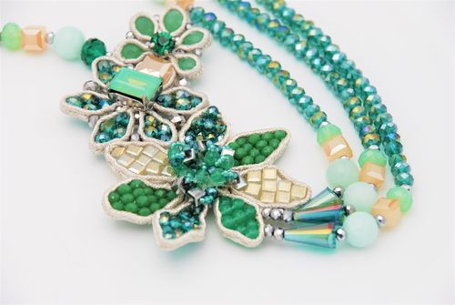 NECKLACE 1595 GREEN