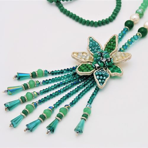 NECKLACE 1596 GREEN