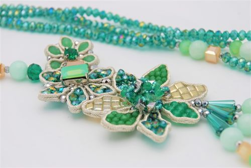 NECKLACE 1597 GREEN