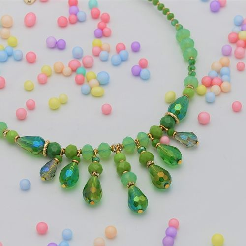 NECKLACE 4325 GREEN