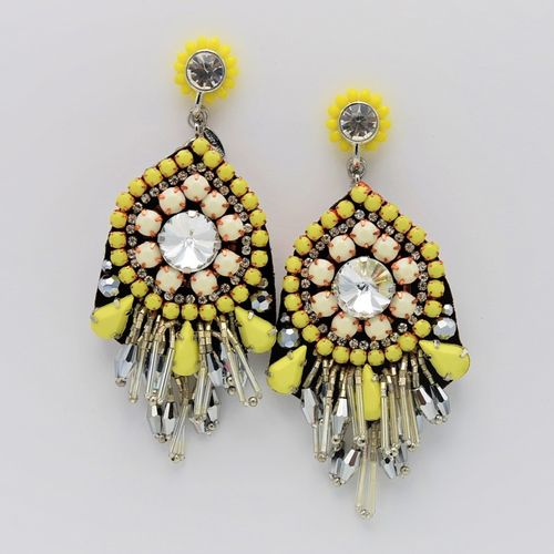 EARRING 1566 YELLOW
