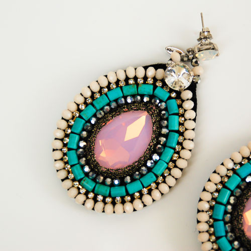 EARRING 2198 WITH TURQUOISE