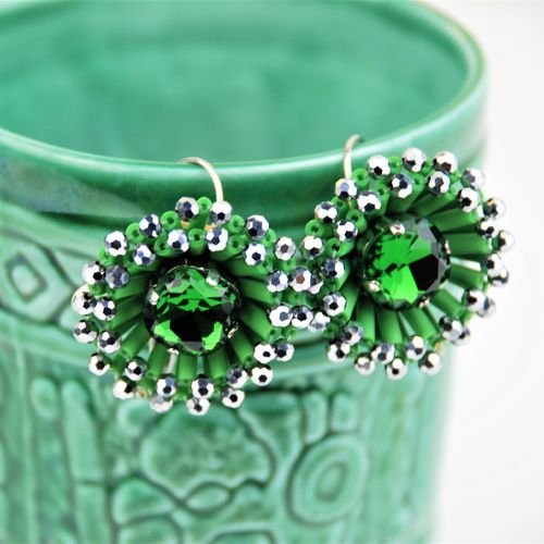 EARRING 2595 GREEN