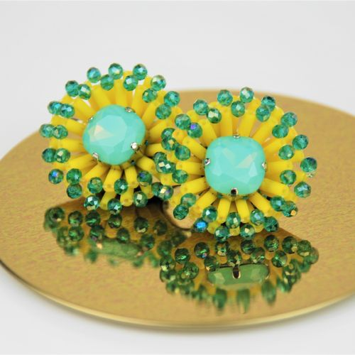 EARRING 2595 YELLOW