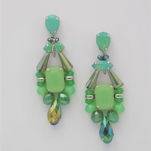EARRING 4425 GREEN