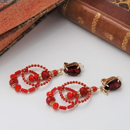 EARRING 4225 RED