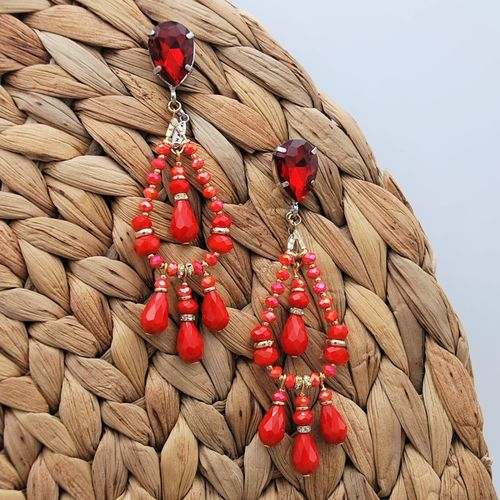 EARRING 4125 RED