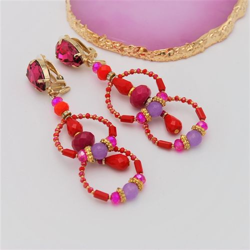 EARRING 4226 RED