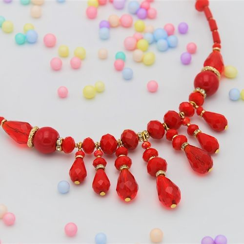 NECKLACE 4325 RED