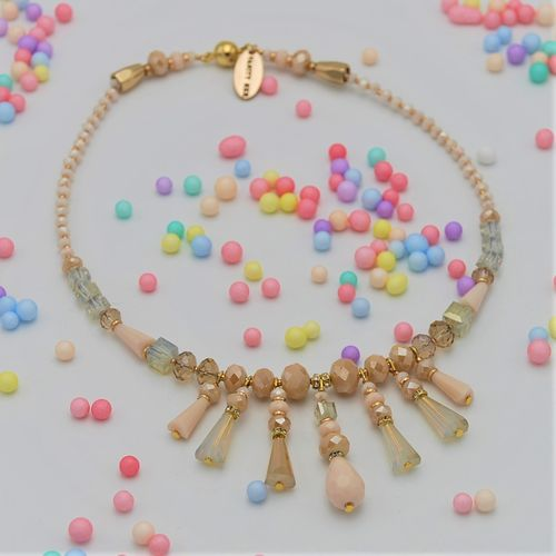 NECKLACE 4325 PINK