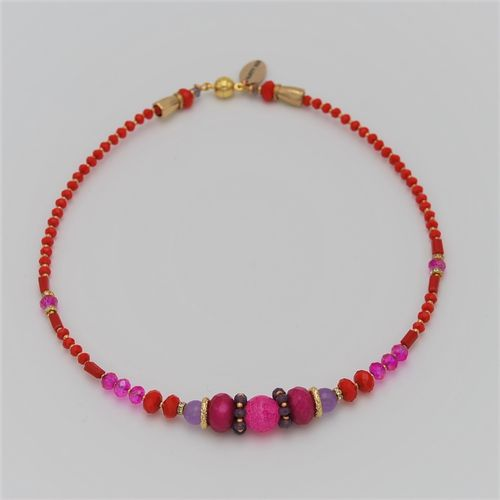 NECKLACE 4226 RED
